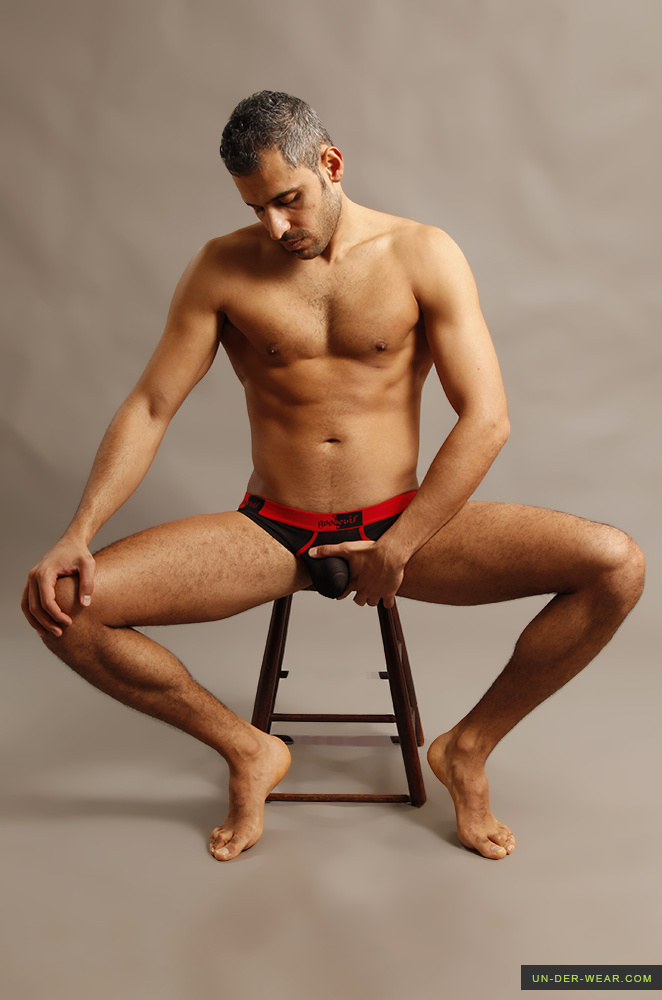 Good Devil Mesh Jock Brief