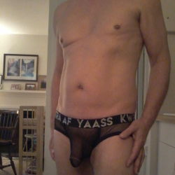 Andrew Christian Mesh Brief